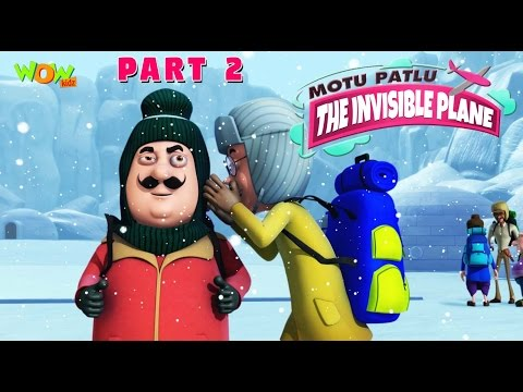 Motu Patlu & Invisible Plane Part 02| Movie| Movie Mania - 1 Movie Everyday | Wowkidz thumbnail