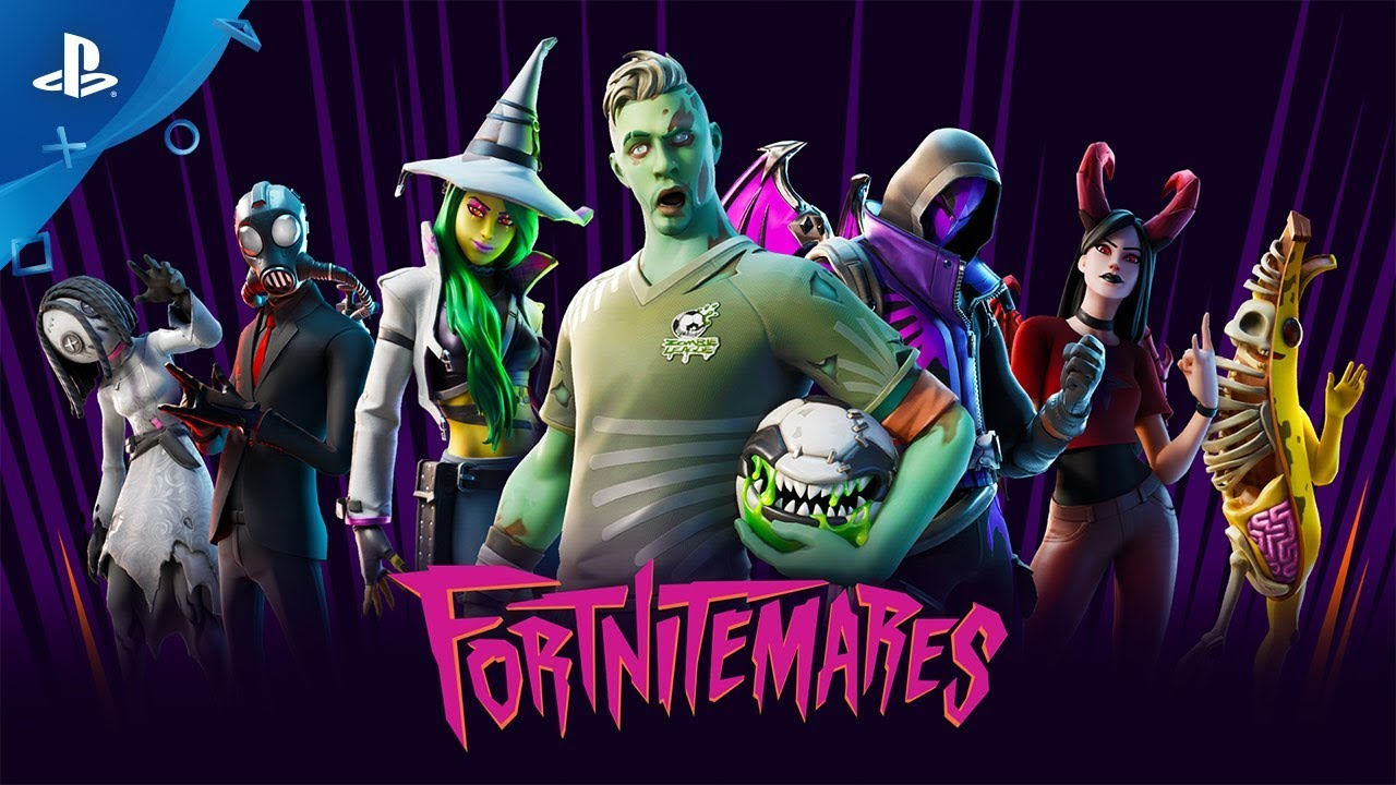 Fortnite - Fortnitemares Gameplay Video | PS4