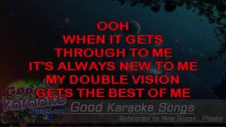 Double Vision -  Foreigner (Lyrics Karaoke) [ goodkaraokesongs.com ]
