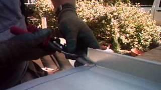 Metal Roof Standing Seam Hemming Example