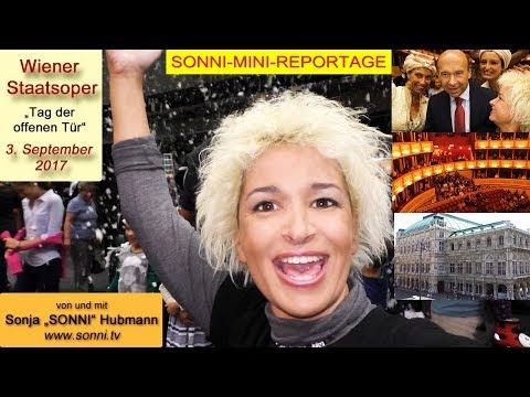 """SONNI-MINI-REPORTAGE: """"Wiener Staatsoper"""" 03.09.2017 (von und mit Sonja Hubmann)"""