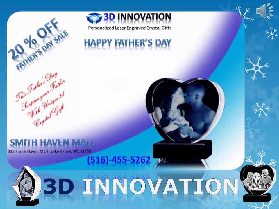 466d0878621 3D CRYSTALS AT SMITH HAVEN MALL (20% off Father's Day Sale). 3D crystal  Gifts
