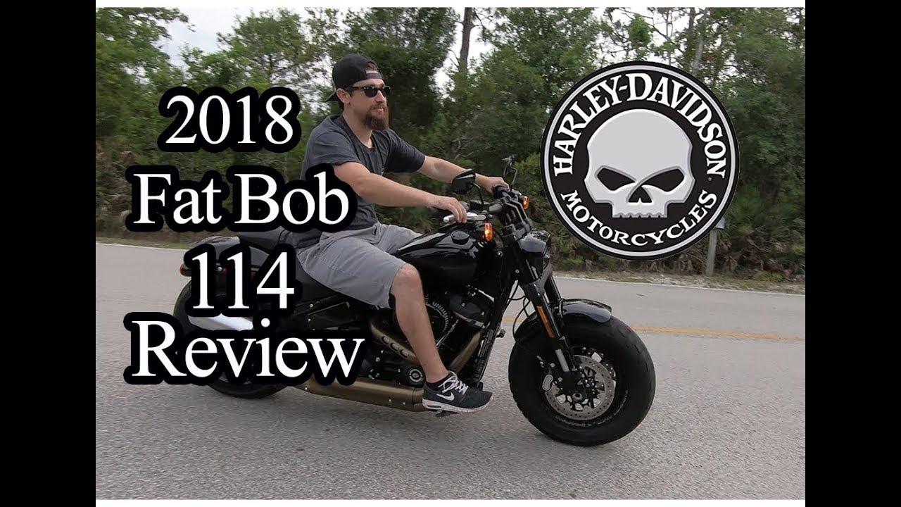 harley davidson 2018 fat bob 114 review youtube. Black Bedroom Furniture Sets. Home Design Ideas
