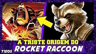 A TRISTE ORIGEM DO ROCKET RACCOON   HISTÓRIA COMPLETA (T1-EP05 - HERÓIS)