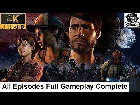 The Walking Dead Season 3 A New Frontier All Episodes Full Gameplay [4K + 60FPS]