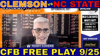 College Football Picks and Predictions | Clemson vs NC State Preview | Big Game Breakdown