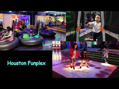 Fun Time at Houston Funplex - Indoor Entertainment Complex
