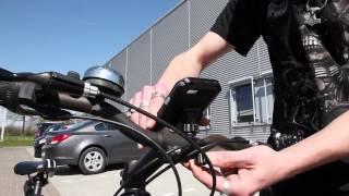 ArktisPRO iPhone 6 6s wasserdichte Fahrrad Halterung Installation