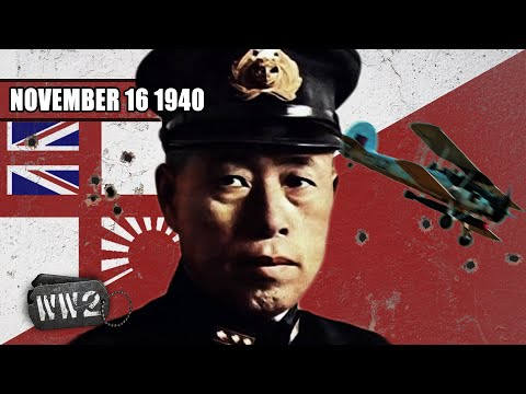 Britain shows Japan how to Attack Pearl Harbor - WW2 - 064 - November 16, 1940