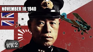 Britain shows Japan how to Attack Pearl Harbor - WW2 - 064 - November 16,