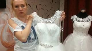 Свадебные платья из Китая продолжение новой распаковки.