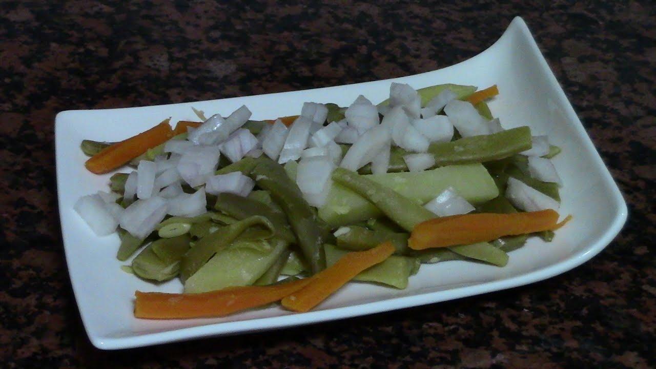 Ensalada de judias verdes recetas de cocina faciles for Comidas ricas y faciles de preparar