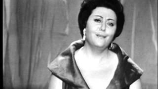 "Régine Crespin (soprano), Robert Schumann: Liederkreis, Op.39, No.5 ""Mondnacht"""