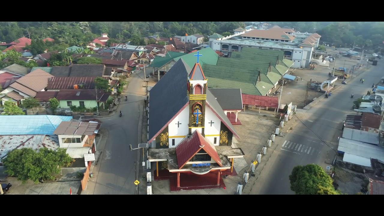 Pesona Kabupaten Barito Timur, Tamiang Layang - YouTube