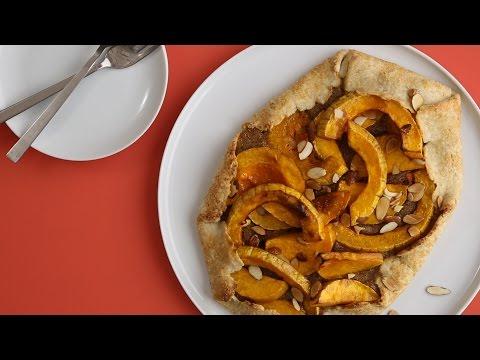 Rustic Toasted Almond And Butternut Squash Tart- Martha Stewart