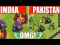 DIFFERENCE BETWEEN INDIA VS PAKISTAN CLASH OF CLAN? | DIFFERENT COLOUR TROOPS IN BOTH COUNTRY'S?