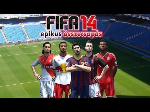 ZDKG: FIFA 14 Epikus összecsapás 6.rész - Olaszország Vs. Hollandia