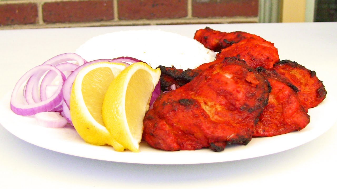 How to make tandoori chicken indian video recipe youtube forumfinder Image collections