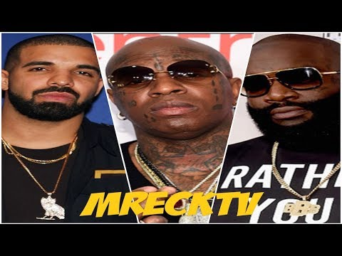 Drake Was Scared To Diss Birdman Directly? But Rick Ross Didn't Bite His Tongue Ridin' For Lil Wayne