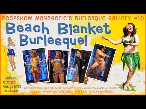 Peepshow Menagerie Burlesque Gallery #10: Beach Blanket Burlesque