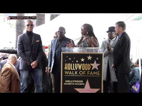 RECORDING ARTISTS NEW EDITION HONORED WITH HOLLYWOOD WALK OF FAME STAR