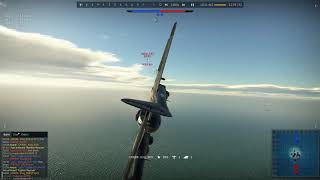 War Thunder - Dogfighting with turret gunners