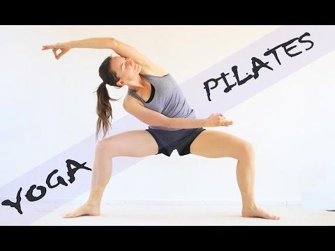 Yoga + Pilates Fusión: rutina para tonificar y ser flexible | 20 min con Elena Malova