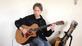 Good News Blues - original Solo Fingerstyle Guitar - Doug Edgell