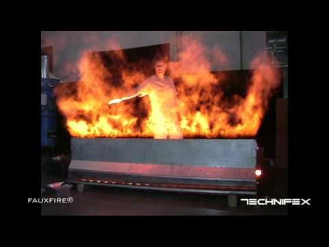 FauxFire® - Simulated Fake Fire Flame System (please watch updated video)