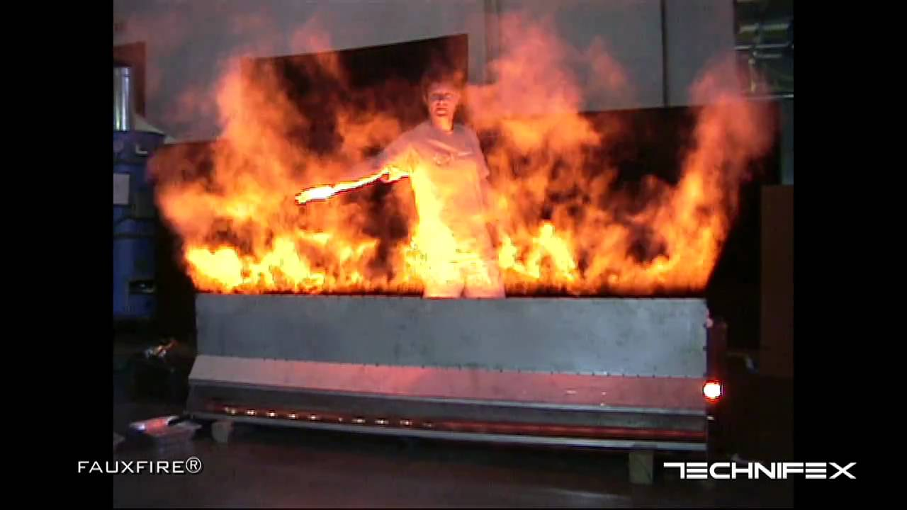 FauxFire® - Simulated Fake Fire Flame System (please watch updated ... for Artificial Flame Light  59dqh