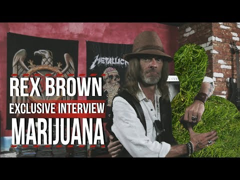Rex Brown Talks Marijuana