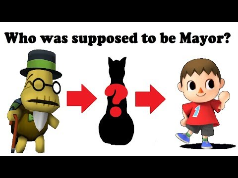 Who was Supposed to be Mayor in Animal Crossing New Leaf?