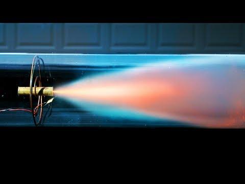 Model Rocket Engine In A Vacuum Chamber - 4K Slow Motion - will it burn? - Rockets (S1 • E3)