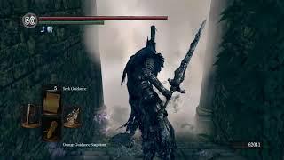 Dark Souls Play as Boss Artorias vs Manus - Age of Fire Mod Gameplay