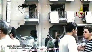 Palermo, 29 anni fa la strage di via D'Amelio: i momenti dopo l'attentato in un video del 1992