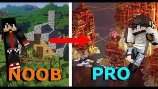 Transformation of a NOOB builder into a PRO builder! Shannooty Minecraft
