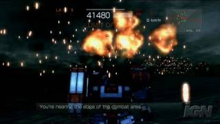 Armored Core 4 PlayStation 3 Gameplay - Blast those