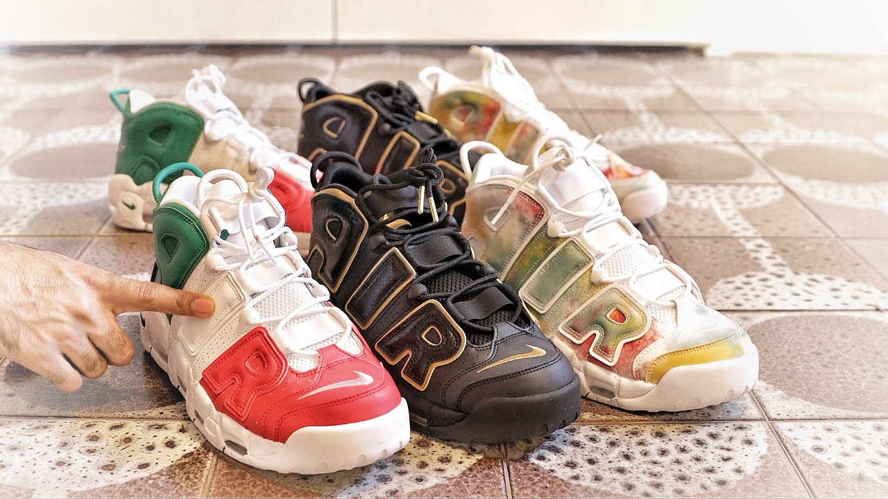 f21e68d18f Nike Air More Uptempo EU City Pack France, UK, and Italy Comparison ...
