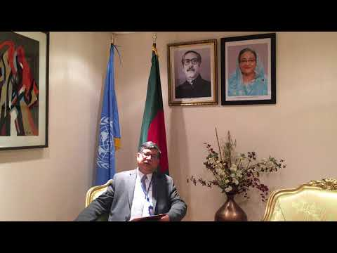 Interview with the PR of Bangladesh to the UN, Mr. Masud Bin Momen about the graduation from LDCs