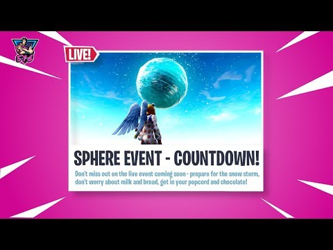 🔥 NEW Sphere Event Countdown | Sub Play | Fortnite PS LIVE Stream