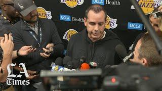 Lakers coach Frank Vogel remembers Kobe Bryant