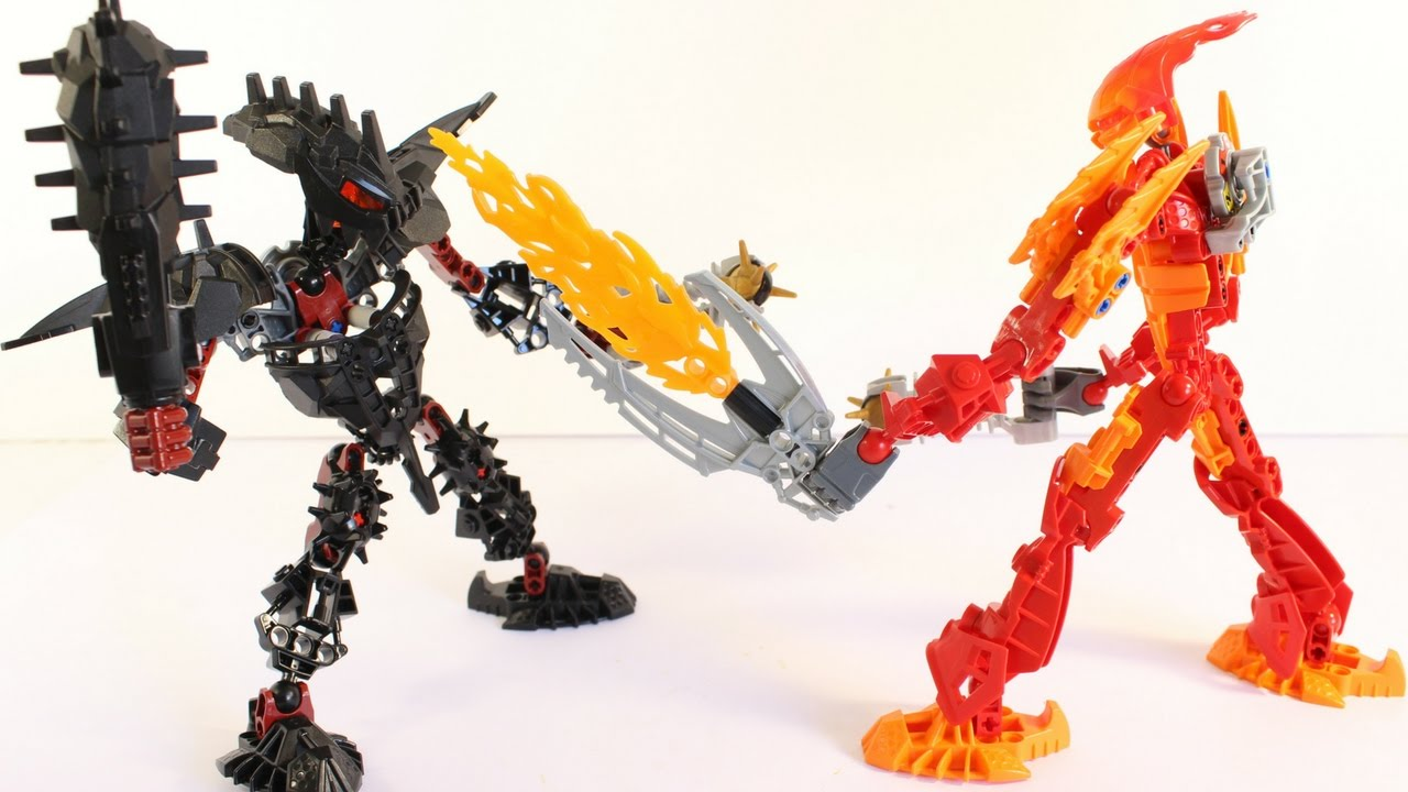 Lego Bionicle Build & Review: Stronius (Glatorian Legends) 8984