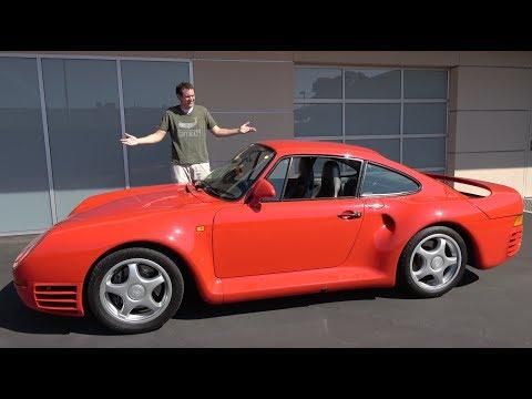 The Porsche 959 Is a $1.5 Million Automotive Icon