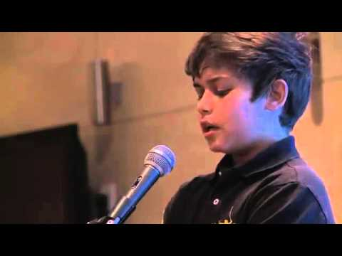 Surah ar-rahman..by a small kid with amazing voice