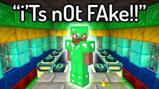 These are the FUNNIEST FAKE Minecraft Speedruns...