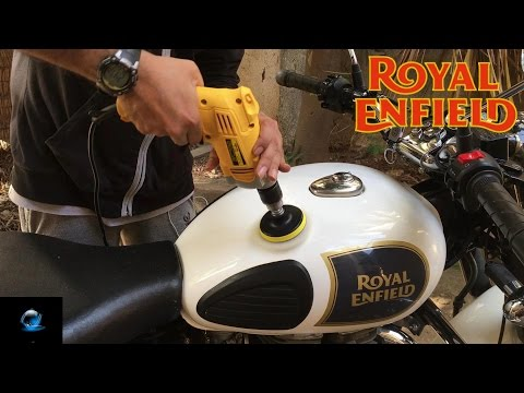 How to Polish Royal Enfield Bike | Bullet |