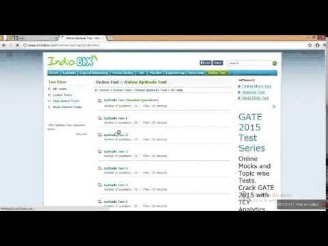 Free Online Aptitude Test Preparation Tips online test for banks