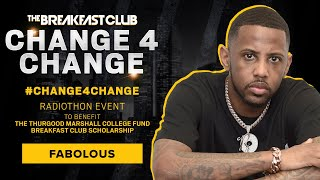 Fabolous Reps New York With A Donation To #Change4Change