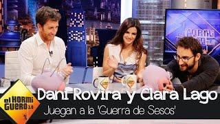 Dani Rovira y Clara Lago juegan a la