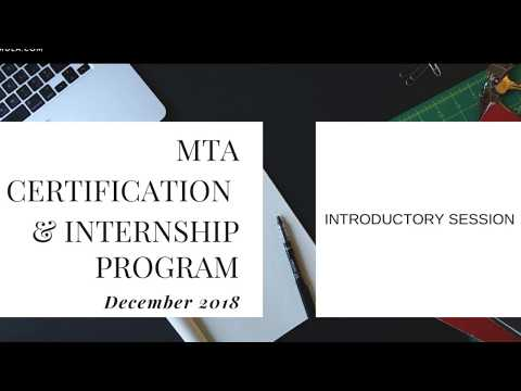 Foxmula Intoductory Session MTA Program December 2018 | How to use the  learning Portal